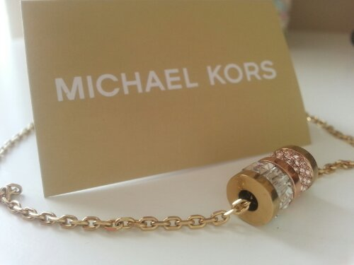 My beauty project m michael kors barrel pendant necklace image mozeypictures Image collections